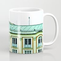 political Mugs featuring Political building. by Alejandra Triana Muñoz (Alejandra Sweet