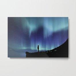 Northern Lights | Aurora Borealis Metal Print