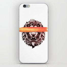 King of the jungle iPhone Skin