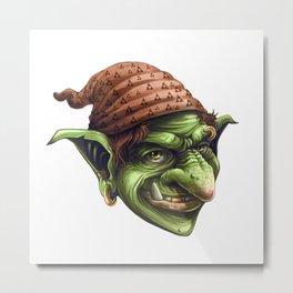 Goblin Soap Metal Print