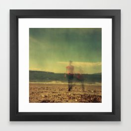 Long Exposure Framed Art Print