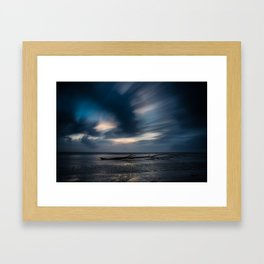 Oregon Pacific Beach Framed Art Print