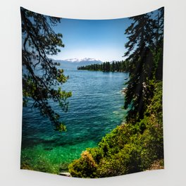 The Emerald Water Wall Tapestry