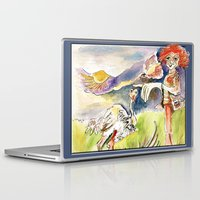 onesie Laptop & iPad Skins featuring Spring Day by CrismanArt