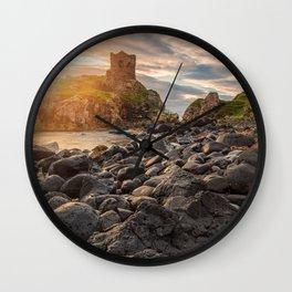 Kinbane Castle VI Wall Clock