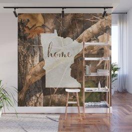 Minnesota is Home - Camo Wall Mural