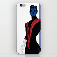 nightcrawler iPhone & iPod Skins featuring Nightcrawler by Andrew Formosa