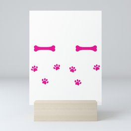 Rockin' The Rottweiler Mom Life Cute Mini Art Print