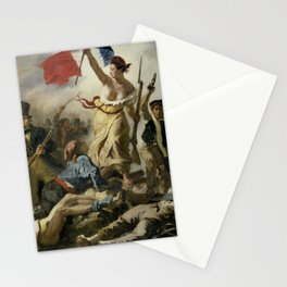 Liberty Leading the People (High Resolution) Stationery Cards