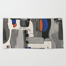 Searching for Ways to Connect Beach Towel