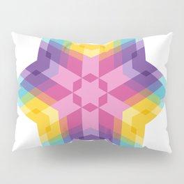 Fig. 026 Colorful Geometric Star Pillow Sham