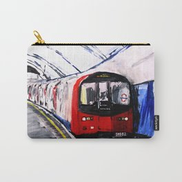 London Underground Northern Line Fine Art Carry-All Pouch
