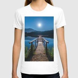 Bright Night Sky at British Columbia T-shirt