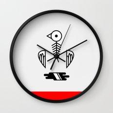 Fishbird Wall Clock