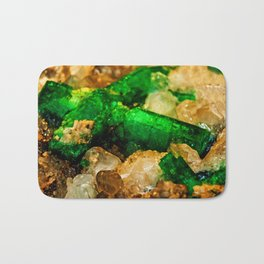 EMERALDS Bath Mat