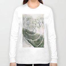 mystery swirl - monoprint Long Sleeve T-shirt