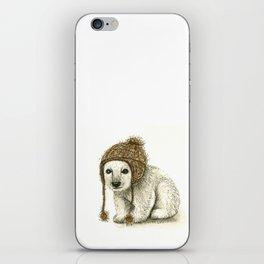 Polar Bear Cub iPhone Skin