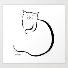 sleep orb Art Print