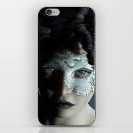 Midnight masquerade iPhone Skin