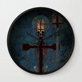 Th Preacher Wall Clock