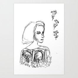 Sketch no. 1 Art Print