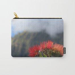 Lehua ʻUlaʻula o Kalalau Carry-All Pouch