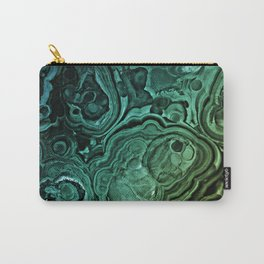 MALACHITE GREEN Carry-All Pouch