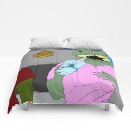 Lizard Gossip Comforters