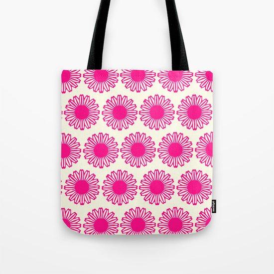 vintage flowers pink  Tote Bag