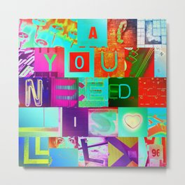All You Need Is LOL Metal Print