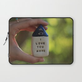I Love You More House Laptop Sleeve