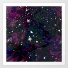 Galaxy 001 Art Print