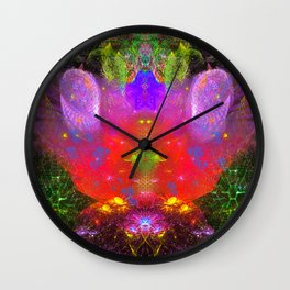 Cthulhu Starship Throne Wall Clock