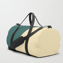 Half a Green Duffle Bag