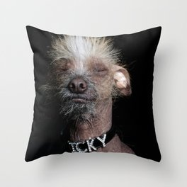 Icky Throw Pillow