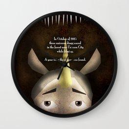 Unicorn Witch Project Wall Clock