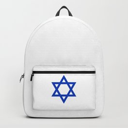 Blue Hexagram Backpack