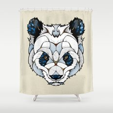 Big Panda Shower Curtain