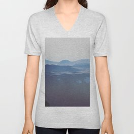 The Tops of Mountains Unisex V-Neck