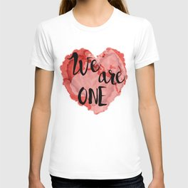 We Are One -Global Community T-shirt