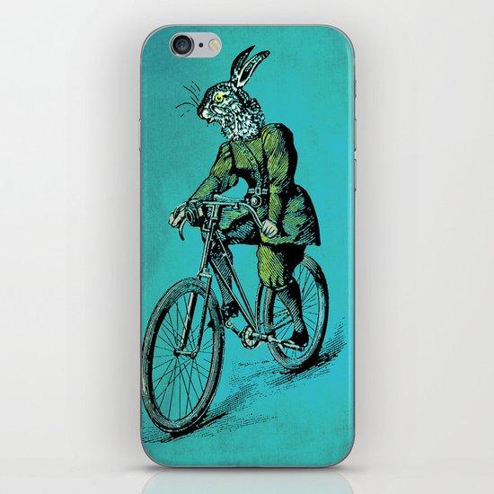 The Bicycle Bunny iPhone & iPod Skin