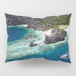 Island hopping around the Philippine Islands Pillow Sham