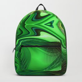 Heart Chakra Energy Repeat pattern background Backpack