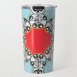 Panda Flake Travel Mug