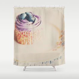 afternoon tea & a cupcake ... Shower Curtain