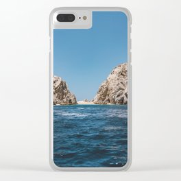 Lovers Beach Clear iPhone Case