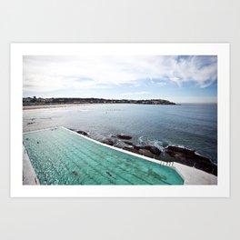 Bondi Icebergs Club Art Print