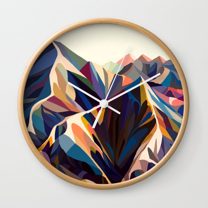 Mountains original Wall Clock