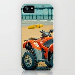 Vintage Baywatch iPhone Case