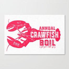 Crawfish Boil Canvas Print